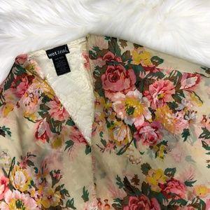Wet Seal Floral & Lace Kimono